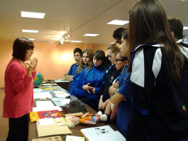3º de ESO visita la ONCE