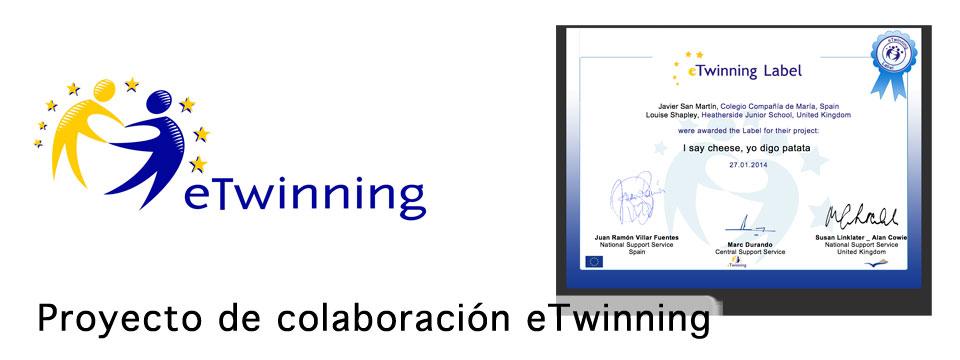 Nuevo proyecto eTwinning