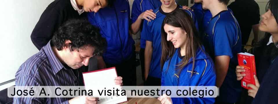 José Antonio Cotrina nos visita