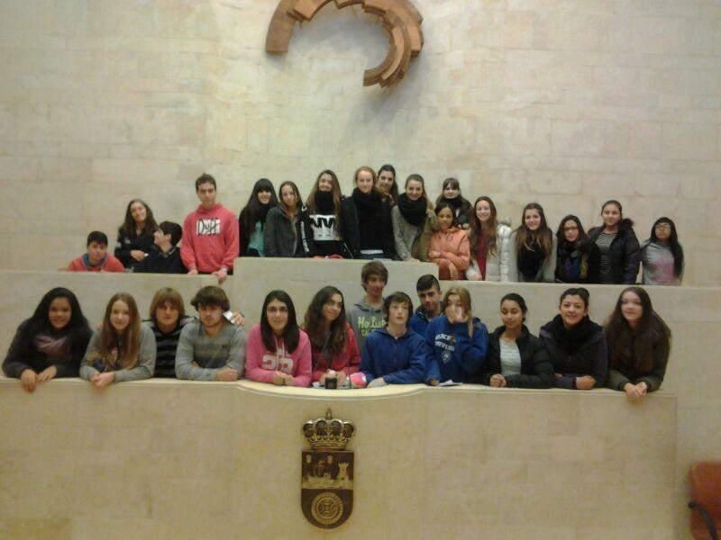 4º de ESO visita el Parlamento