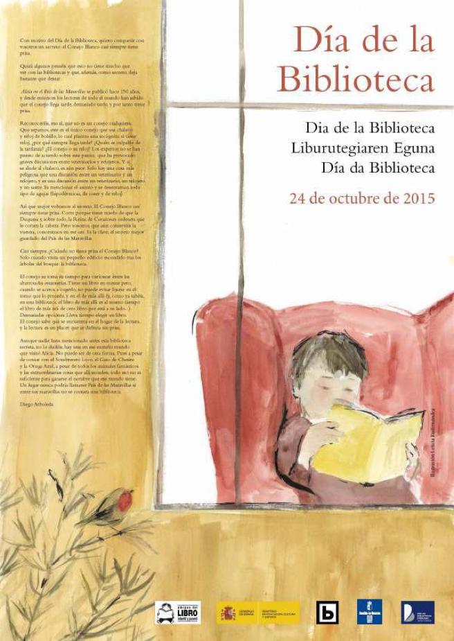 Octubre: mes de las bibliotecas escolares
