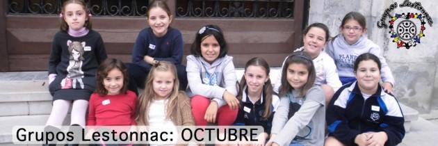 Grupos Lestonnac – OCTUBRE