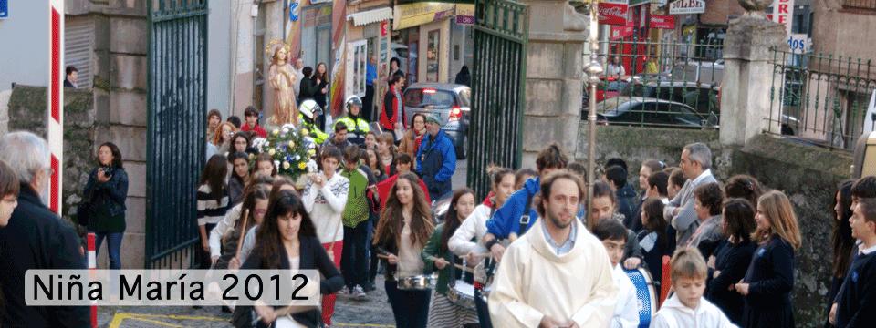 Fiesta de la Niña María 2012