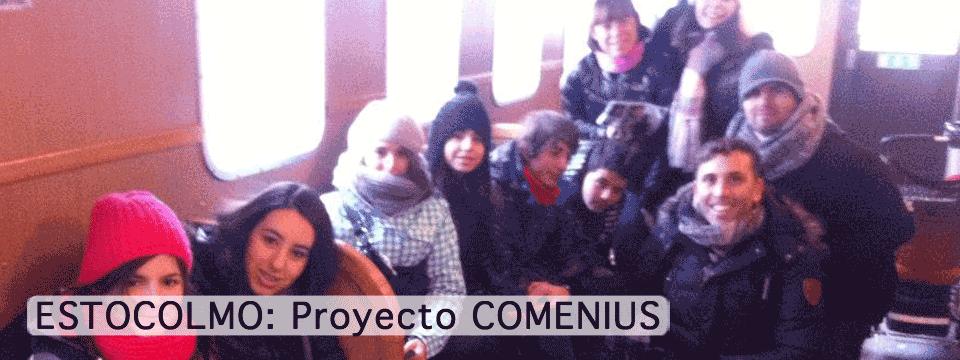 ESTOCOLMO: Proyecto COMENIUS
